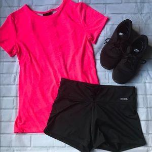 Victoria's Secret Shorts & Open Back T Outfit, M